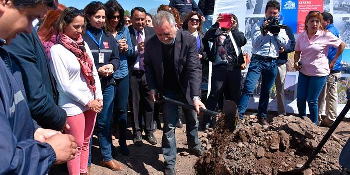 Comienza construcción de conjunto que albergará a 150 familias de Nancagua