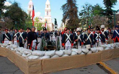 Diversas actividades marcaron la conmemoración de los 203 años de la Batalla de Rancagua
