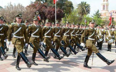 Escuela de Carabineros rendirá honores a los patriotas caídos en la Batalla de Rancagua