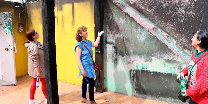 Familias afectadas por incendio en Graneros agradecen rápida gestión para reconstruir sus hogares