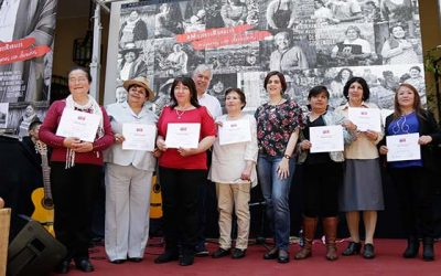 Gobierno destaca rol de las mujeres rurales en el desarrollo económico social y cultural de Chile