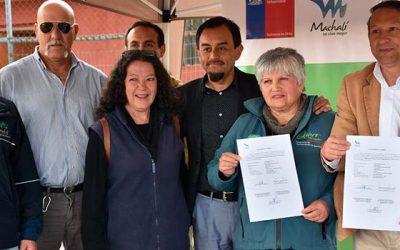 Inician obras de mejoramiento de plazas en barrio Nuevo Horizonte-Cordillera de Machali