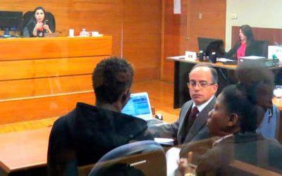 Juzgado de Garantía de Rancagua realiza por primera vez audiencia con intérpretes en créole haitiano