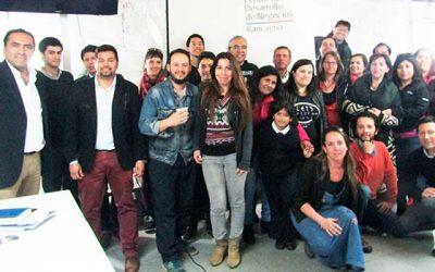 Leo Meyer se reúne con 30 empresarios región en tour genera redes
