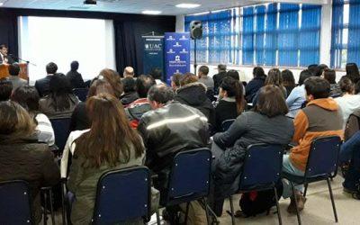 Presidente de la Corte de Apelaciones de Rancagua dicta charla a estudiantes de la Universidad de Aconcagua