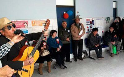 Salud Machalí celebró el Día Internacional de las personas de edad en la localidad de Coya