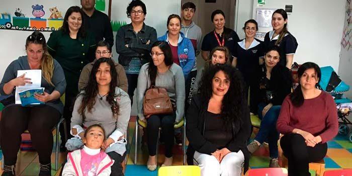 Salud Machalí orientó a padres y apoderados de preescolares sobre hábitos de higiene