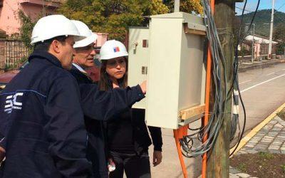 Supervisan instalaciones para mejorar continuidad de suministro eléctrico en sistemas de APR