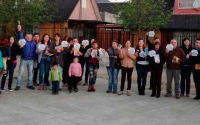 Vecinos de Rengo juntos contra la delincuencia