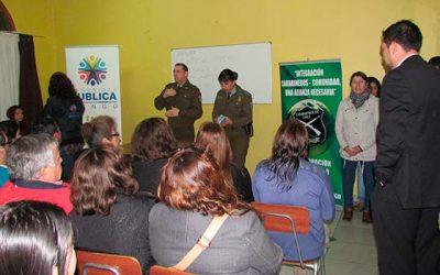 Vecinos de villa Araucanía de Rengo unidos contra el delito