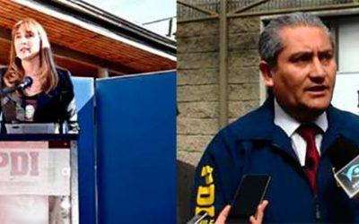 Asumen nuevos jefe provinciales de la PDI en la Sexta Región