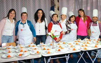 Chupe de Jibia del club de adultos mayores de Rancagua gana concurso de recetas chilenas saludables