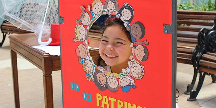 Día del Patrimonio para niños en la Gobernación Un día para viajar al pasado y dar vida a la historia