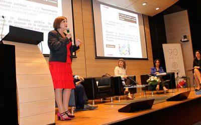 Directora nacional del Sernameg expone en seminario Objetivos de Desarrollo sostenible y fiscalización