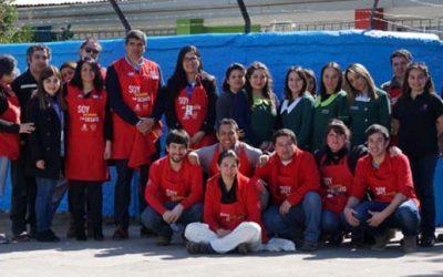 Empresa realiza mejoras en jardín de Integra