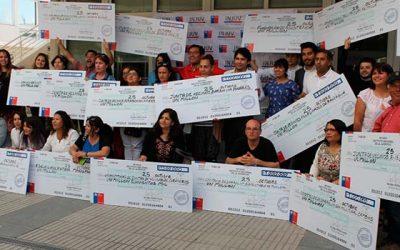 Entregan cheques del Fondo #ParticipaDos a 16 organizaciones de la Región