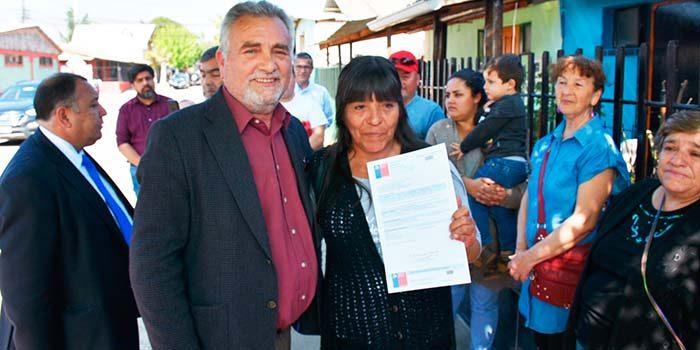 Familias de Graneros afectadas por incendio agradecen rapidez de solución del Minvu