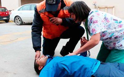 Funcionarios del Hospital Regional LBO se capacitan en reanimación cardio pulmonar
