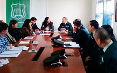 Gendarmería se reúne en Rancagua con el Instituto Nacional de Derechos Humanos