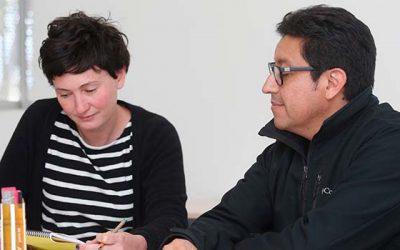 Investigadora del IDES realiza pasantía en la Universidad de O'Higgins