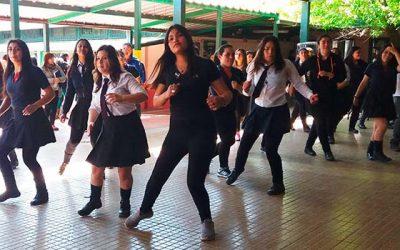 Liceo Jorge Alessandri participa en feria de actividad física
