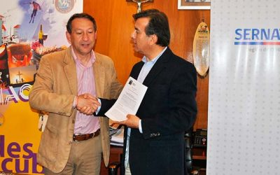 Machalí y el Sernatur suscriben acuerdo para funcionamiento de Oficina de Información Turística en la comuna