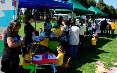 Masiva asistencia en encuentro de localidades rurales en Graneros