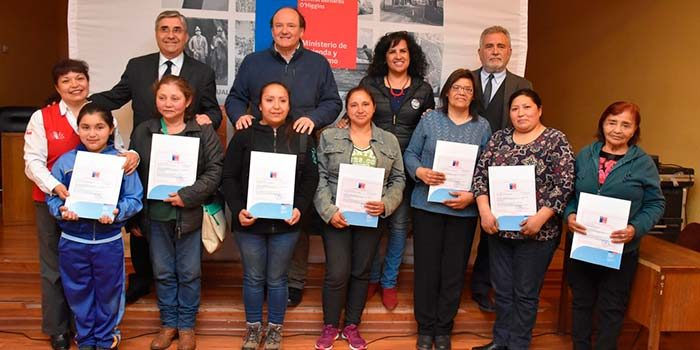 Minvu entregó subsidios de mejoramiento de vivienda en San Fernando