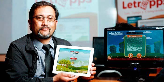 Profesor rancaguino crea novedosa aplicación móvil y plataforma para fomentar la lectura en niños