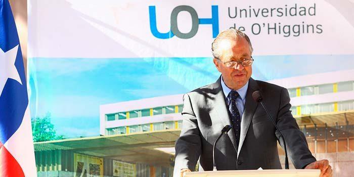 Rector Rafael Correa destaca avances de la Universidad de OHiggins en su primera cuenta pública