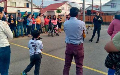Vecinos de Rengo organizados de villa Primavera juntos contra la delincuencia