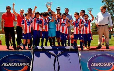 500 escolares de las cabras animan primer campeonato de futbolito copa Agrosuper