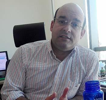 Aldo Valencia Yzaguirre, gerente regional de Essbio Región de O'Higgins
