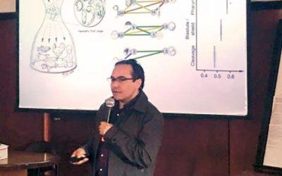 Académico de la UOH participa en primer simposio internacional de neurociencias en Uruguay