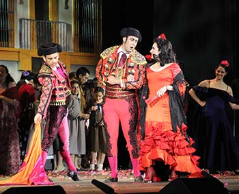 Alrededor de 14 mil asistentes disfrutaron y aclamaron las magistrales presentaciones de la ópera Carmen