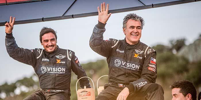 Boris Garafulic sube al podio en la 31 edición de baja portalegre 500