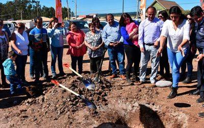 Comités de Pichilemu celebraron el inicio de obras de sus viviendas