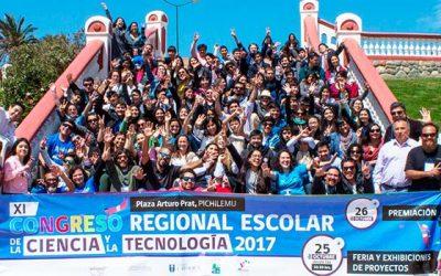 Con temáticas medioambientales representarán a la Región en Congreso Nacional de Ciencias