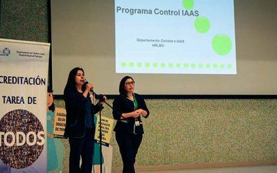 Departamento de Calidad e IAAS en atención de salud realizó tercera jornada de buenas prácticas