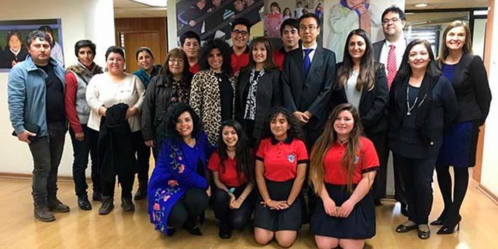 Estudiantes de la sexta región asisten a la cumbre del Tsunami en Japón