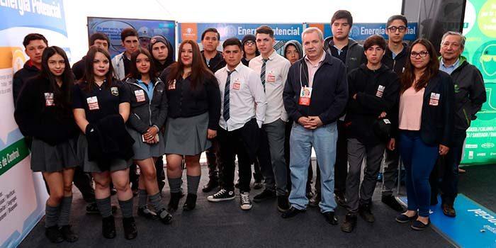 Estudiantes de Machalí participaron en Feria de las Energías de El Teniente