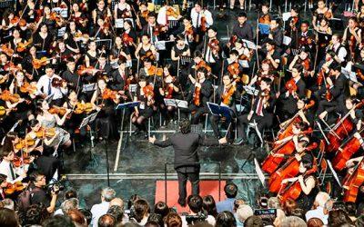 Finaliza encuentro internacional orquestas sinfónicas música desde los templos