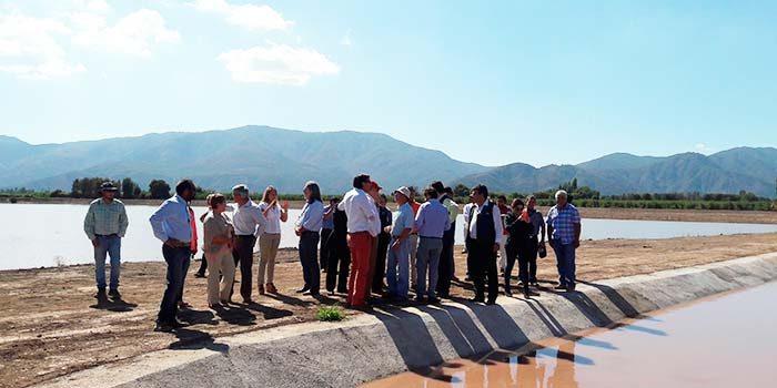 Histórica inversión en riego para pequeña agricultura en la Sexta Región