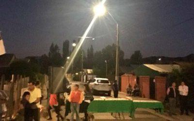 Inauguran nuevas luminarias públicas LED en comuna de Quinta de Tilcoco