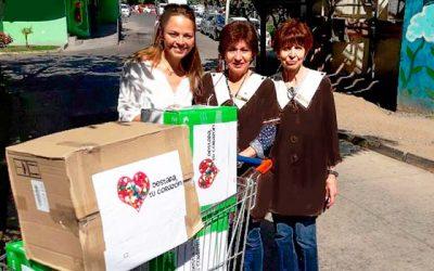Jurisdicción Rancagua entrega ayuda a Damas de Café a través de campaña Junta tus tapitas