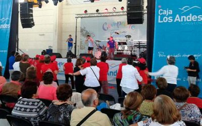 Más de 1.500 adultos mayores se espera que lleguen a disfrutar de FIDAM en Rancagua