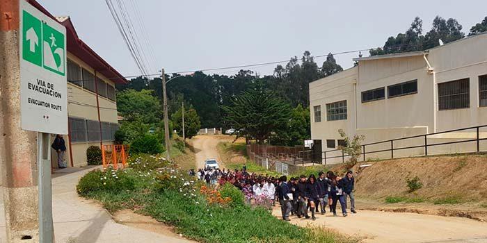 Más de 4400 personas del borde costero de la Región de OHiggins participaron en simulacro de Tsunami