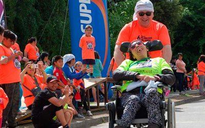 Más de 500 personas corrieron por la inclusión en Requínoa