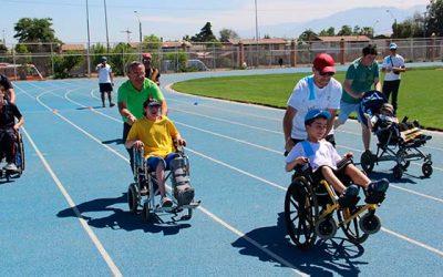 Más de 600 participantes dieron vida a los Juegos Regionales de Inclusión en Rancagua