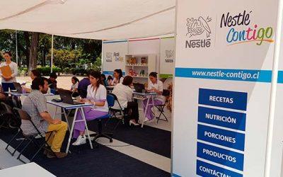 Nestlé contigo llegó a Graneros para enseñar a sus vecinos a mejorar su calidad de vida